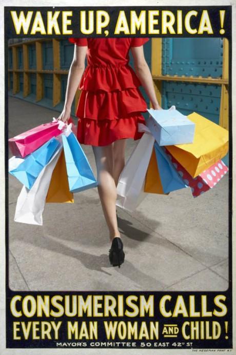 Remixed Propaganda - Consumerism Calls (Nadine Smith, 2013)